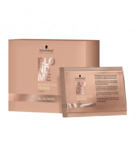 Schwarzkopf BLONDME All Blondes Detoxifying System Shots