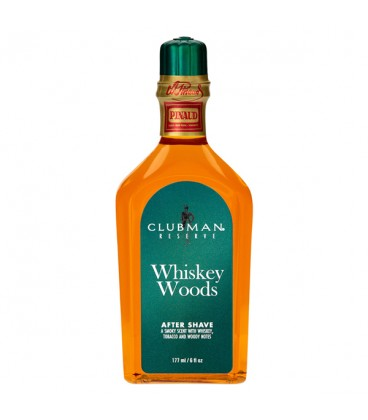 Clubman Reserve Whiskey Woods After Shave Lotion - 177ml