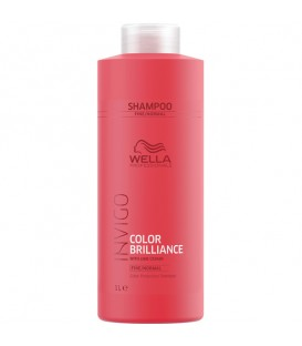 Wella INVIGO Colour Brilliance Shampoo Fine To Normal Hair - 1L