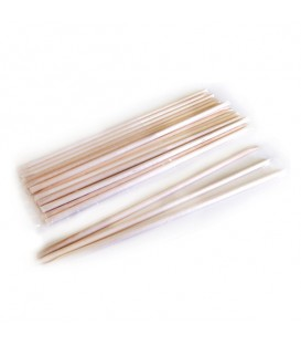 "Silkline Birchwood Sticks Beveled Tips 7"" (17.5 cm) - 144/Bag"