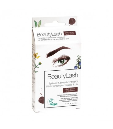 BeautyLash Eyebrow and Eyelash Tinting Kit - Dark Brown