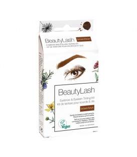 BeautyLash Eyebrow and Eyelash Tinting Kit - Brown