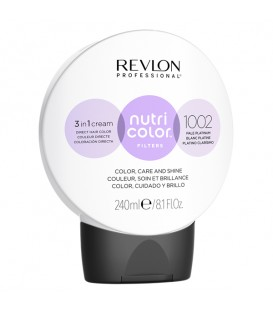 NEW Revlon Professional Nutri Color Filters 1002 Pale Platinum - 240ml