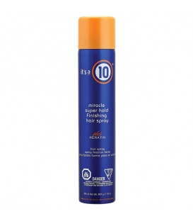 It's a 10 Miracle Superhold Finishing Hair Spray plus Keratin - 334ml
