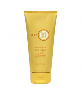 It's a 10 Five Minute Hair Repair for Blondes - 148ml