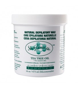 Sharonelle Microwave Natural Tea Tree Wax - 16oz