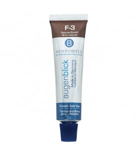 Berrywell Esthetic Cream Hair Dye Natural Brown F-3C