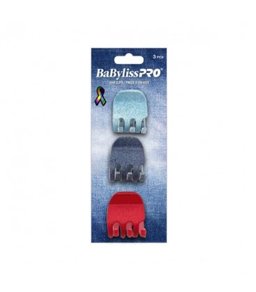 BabylissPRO Hair Clips Big 3pc