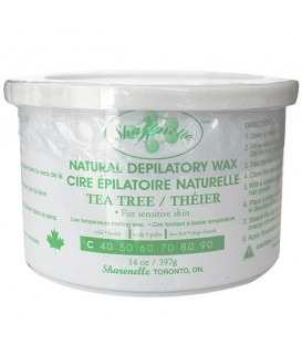 OUT OF STOCK -- Sharonelle Tea Tree Pot Wax