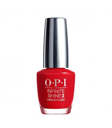 OPI Infinite Shine 2 Unrepentantly Red Lacquer