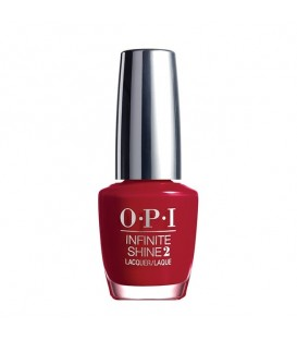 OPI Infinite Shine 2 Unequivocally Crimson Lacquer