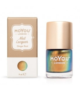 MoYou London Ginger Rust Nail Polish