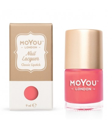 MoYou London Classic Lipstick Nail Polish