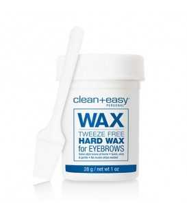 Clean+Easy Tweeze Free Hard Wax for Eyebrows - 28g