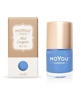 MoYou London Blue Jay Nail Polish