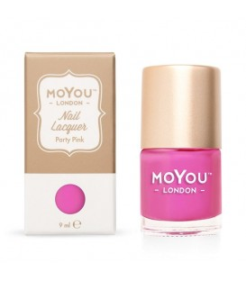 MoYou London Party Pink Nail Polish -- 6 LEFT