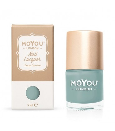 MoYou London Sage Smoke Nail Polish
