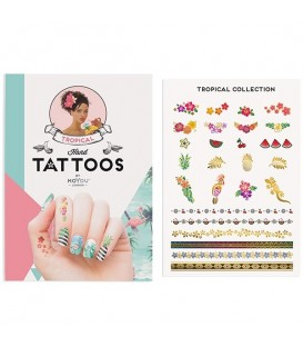 MoYou London Tropical Hand Tattoo Colour 02