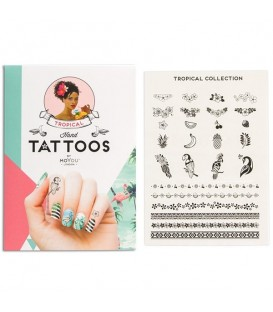 MoYou London Tropical Hand Tattoo Black 02