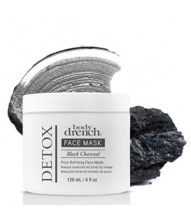 Body Drench Black Charcoal Pore Refining Mask - 120ml