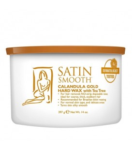 Satin Smooth Calendula Gold Hard Wax - 397g - SSW14CTG