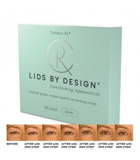 Contours RX Lids by Design 6mm Pack - 80pc