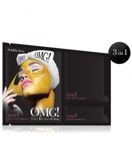 OMG! 3in1 Kit Peel Off Mask 24K Gold