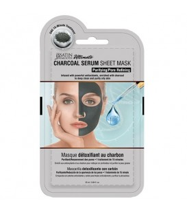 Satin Smooth Charcoal Serum Mask - SSKDMK