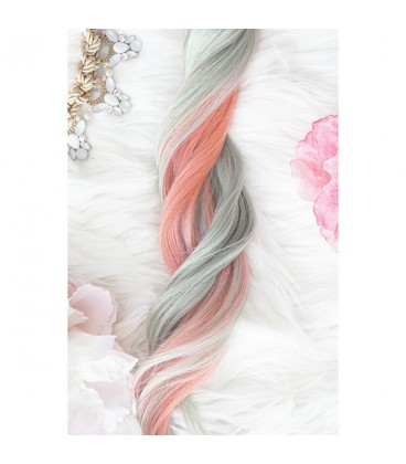 Unicorn Hair Extensions Dream Mix - 16″