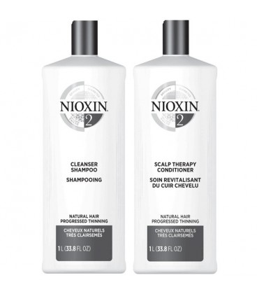 Nioxin System 2 Duo - 1L