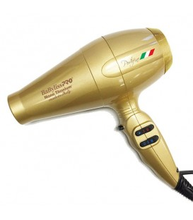 BaByliss PRO Portofino Limited Edition Gold Hairdryer - BABNT6610G0NC