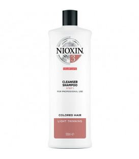 Nioxin System 3 Cleanser - 1L