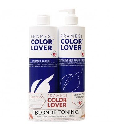 Framesi Dynamic Blonde Violet Duo - 500ml