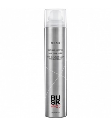 Rusk Pro BUILD04 Light Hold Hairspray - 284g