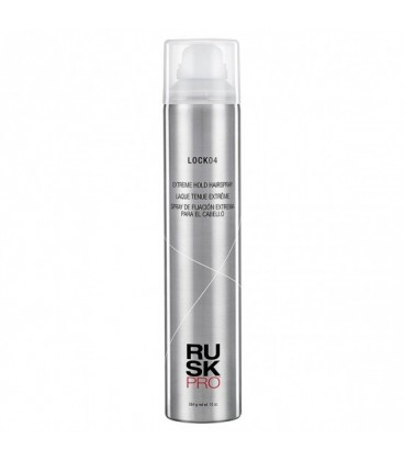 Rusk Pro LOCK04 Extreme Hold Hairspray - 284g