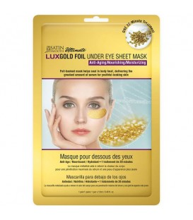 Satin Smooth LuxGold Foil Gold Under Eye Sheet Mask - SSKGFUEM