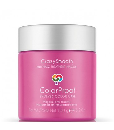 ColorProof CrazySmooth Anti-Frizz Treatment Masque - 150g