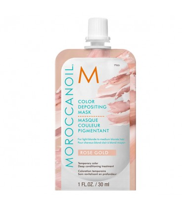 Moroccanoil Color Depositing Mask Rose Gold - 30ml
