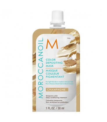 Moroccanoil Color Depositing Mask Champagne - 30ml