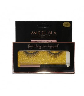 ANGELINA LUXE Magnetic Eyelashes and Eyeliner Kit