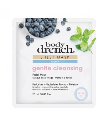Body Drench Gentle Cleansing Bubble Sheet Mask
