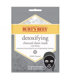 Burt's Bees™ Detoxifying Charcoal Sheet Mask - 9.35g