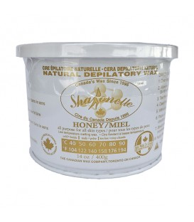 Sharonelle Microwave Natural Honey Soft Wax - 14oz
