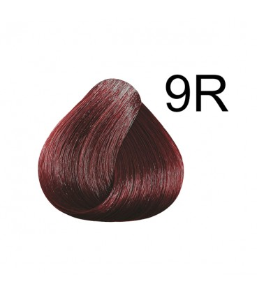 COLOR & SOIN Natural Ammonia Free Hair Color Kit - 9R Fire Red