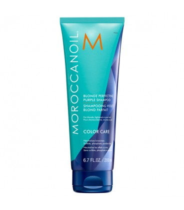 Moroccanoil Blonde Perfecting Purple Shampoo - 200ml