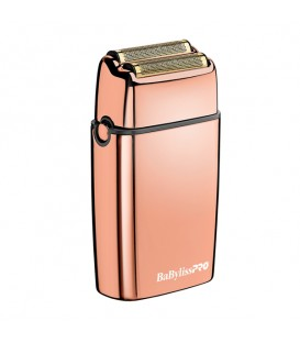BaBylissPRO Metal Double Foil Shaver Rose Gold