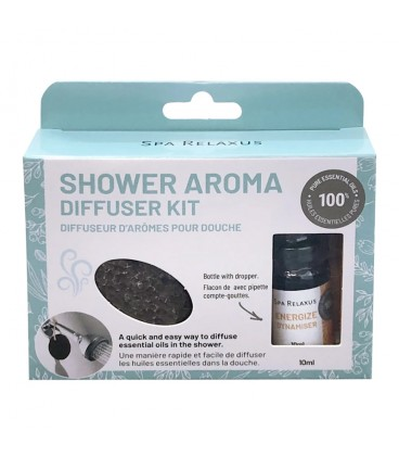 Relaxus Beauty Shower Aroma Diffuser Kit