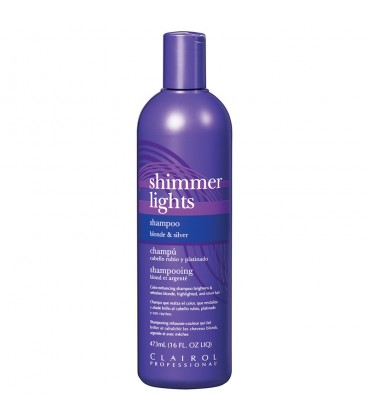 Clairol Shimmer Lights Blonde & Silver Shampoo - 473ml