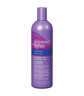 Clairol Shimmer Lights Blonde & Silver Conditioner - 473ml