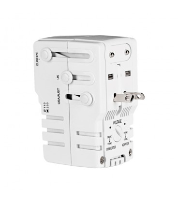 Conair Travel Smart All-in-One Adapter Combo Unit